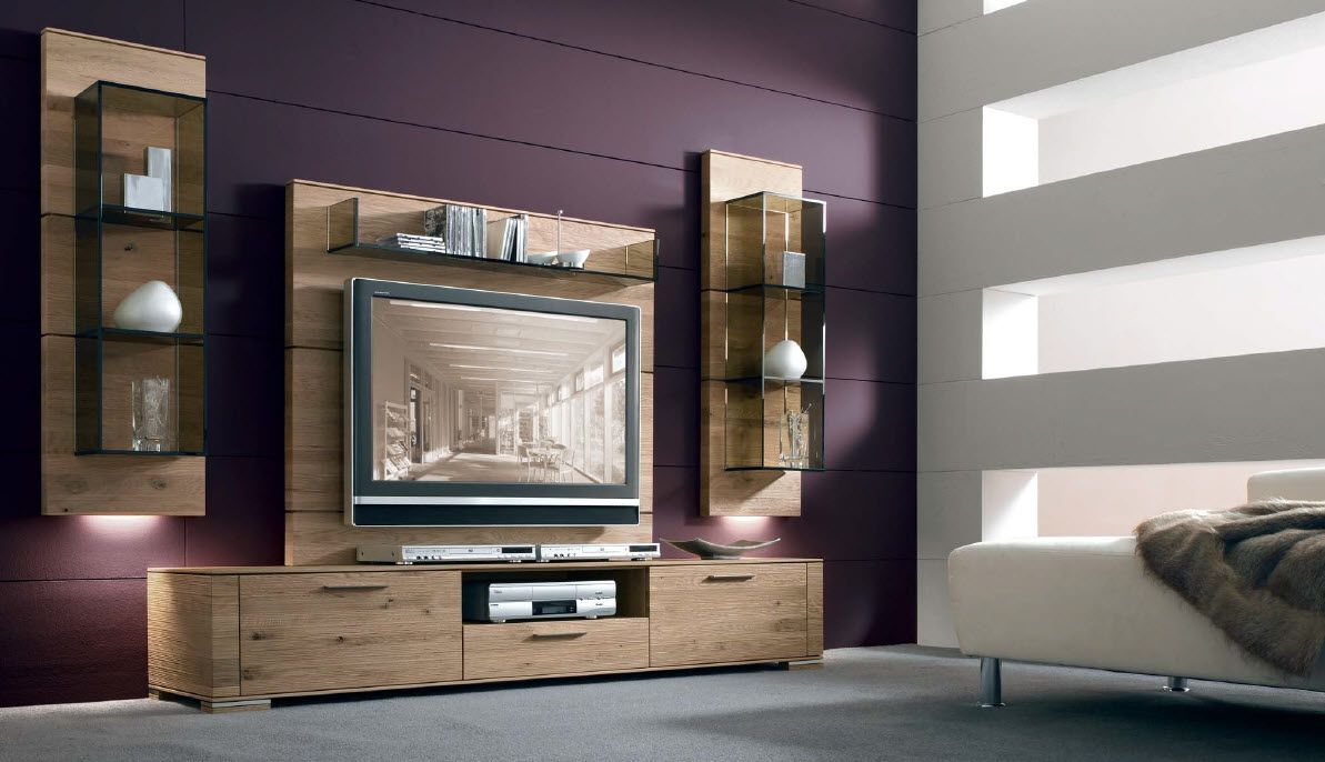 Muebles de tv modernos buscar con google ideas for Muebles modernos living para tv