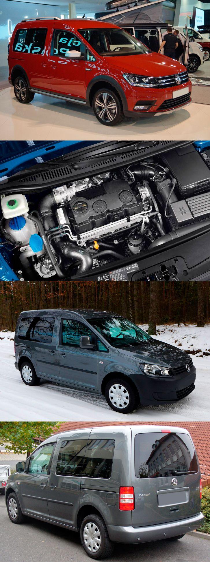 A practical and Comfortable Mini_Van Volkswagen Caddy