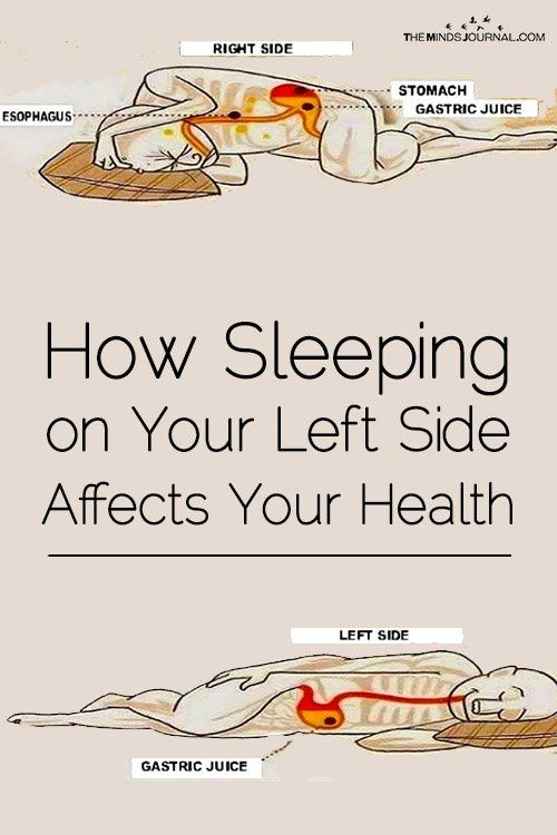 How Sleeping on Your Left Side Affects Your Health – The Minds Journal