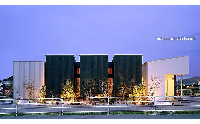 平岡建築デザイン 医院 クリニック 建築 設計 デザイン 歯科医院 建築家 大阪 東京 設計事務所 病院 住宅設計 店舗 ショップデザイン コートハウス 中庭
