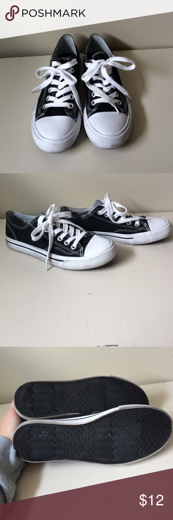 efd34ab030e Converse look alike These are the target brand look alike converse shoes. Womens  size 8. Worn only a couple of times. Excellent condition Mossimo Supply Co  ...
