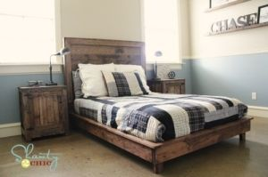 Amazing bed frame by Ciara Spell