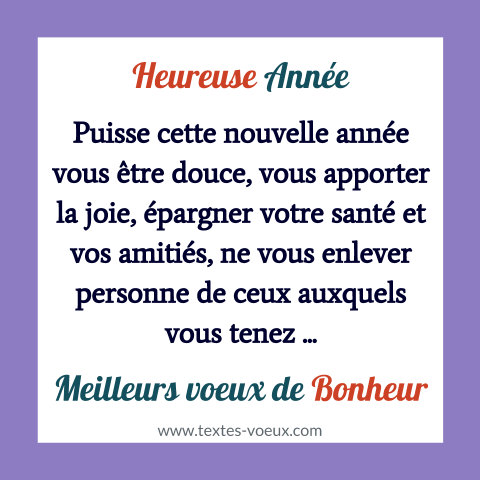 Quotes for wishing a happy new year 2020 with a beautiful greeting #voeuxbonneannée