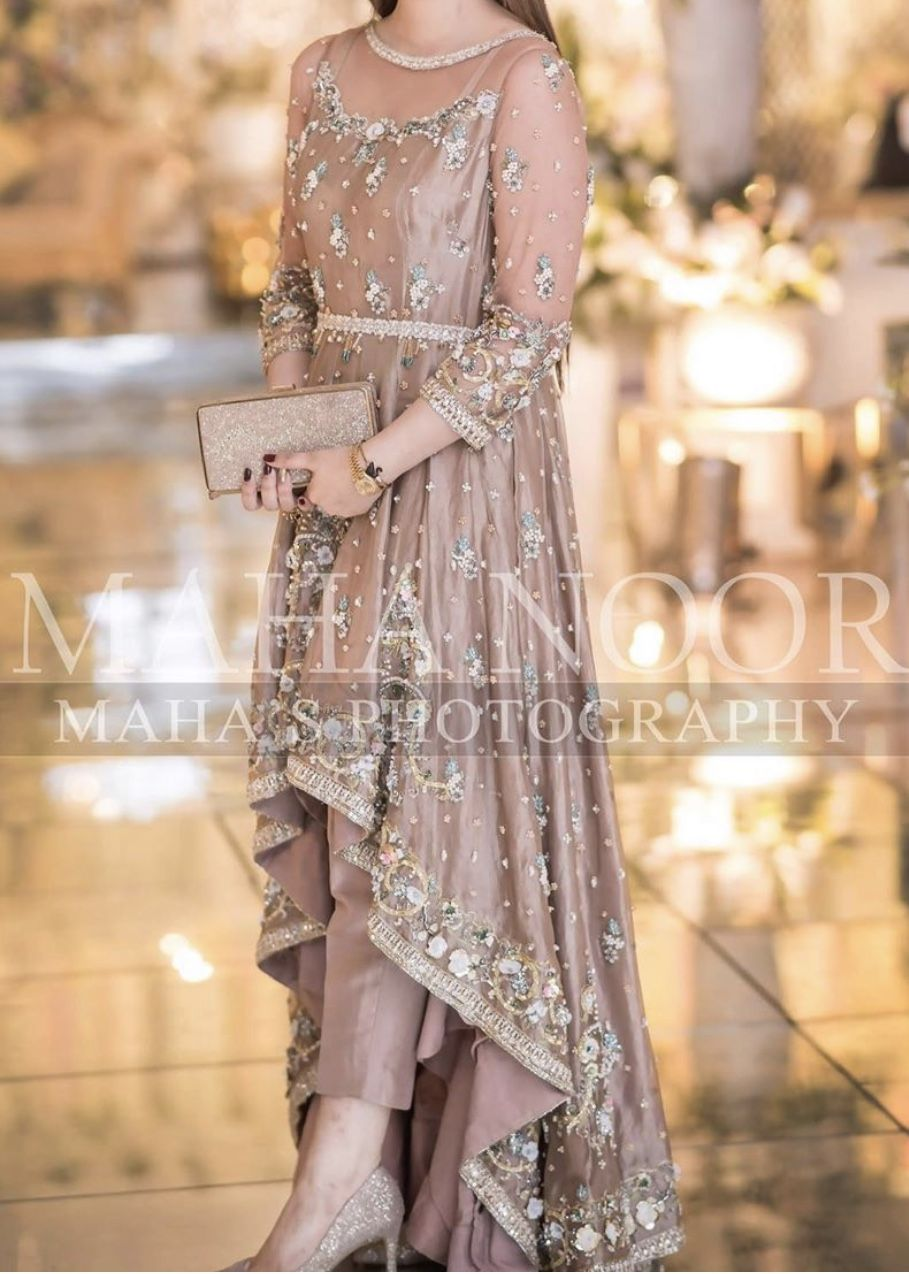 At A Baraat In 2020 Pakistani Bridal Dresses Pakistani Fashion Party Wear Pakistani Formal Dresses,Tea Length Wedding Dresses With Pockets