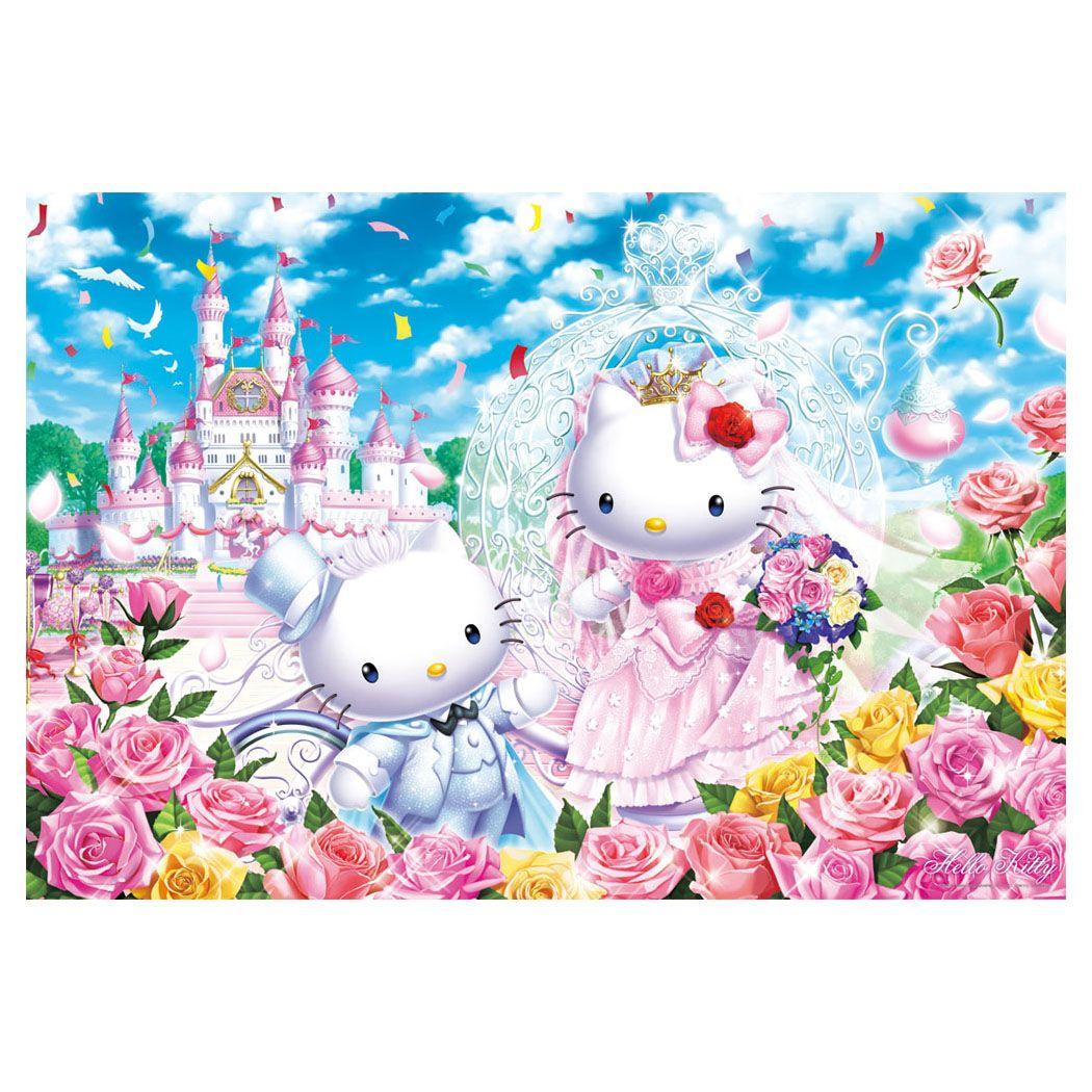 Hello Kitty Jigsaw Puzzle 1000 Pieces Castle Wedding Sanrio Japan Hello Kitty Wedding Hello Kitty Toys Hello Kitty Wallpaper