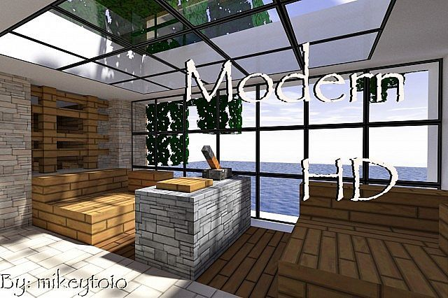 Minecraft Modern Hd Texture Pack 1 5 2 With Images Minecraft