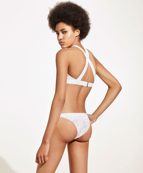 f44312b529ff Braguita bikini brasileña crochet - Última Semana - Tendencias ...