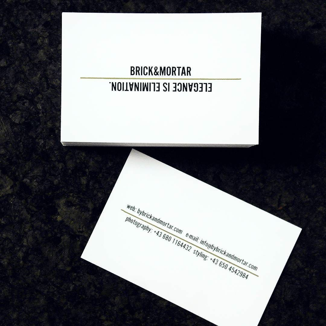 Just got our new business cards #minimalism #moo #blackandwhite ...