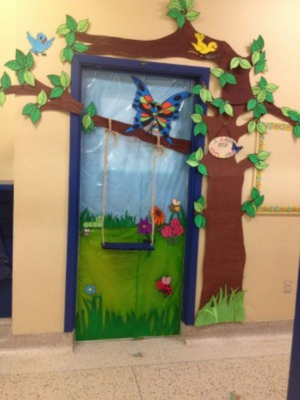 Preschool Classroom Door Decoration Ideas ~ Classroom door decoration ideas for back to school