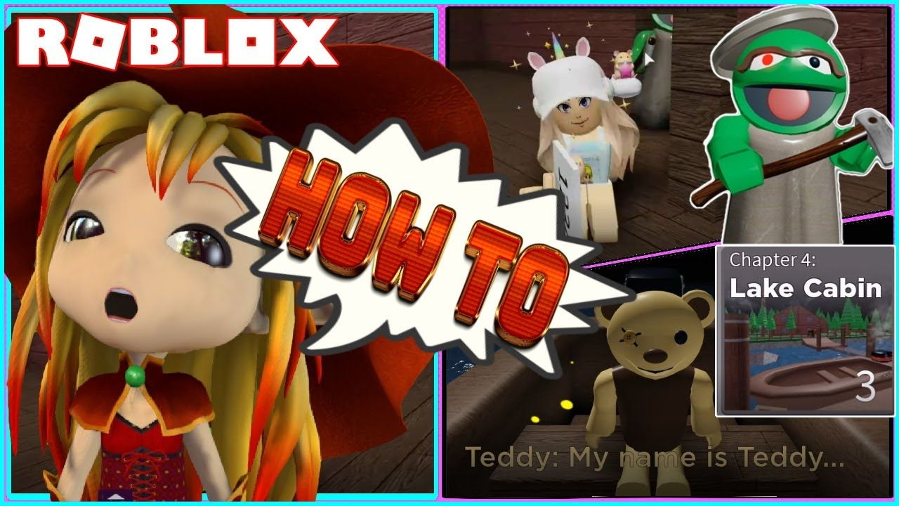 How To Escape From New Chapter 4 Lake Cabin My Arms Glitched Roblox Pu In 2020 Roblox New Chapter Lake Cabins