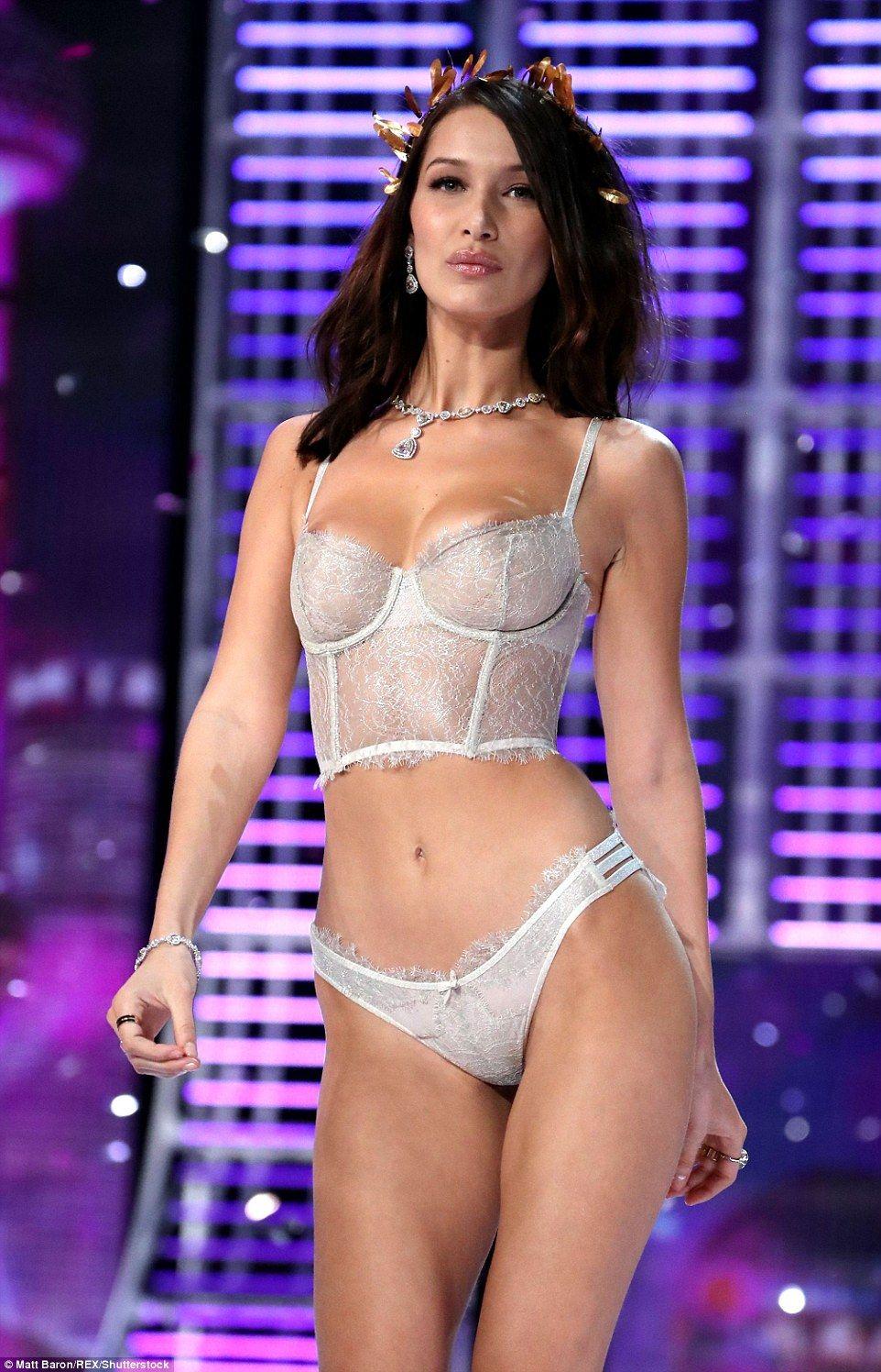 Victoria Secret Boob Show