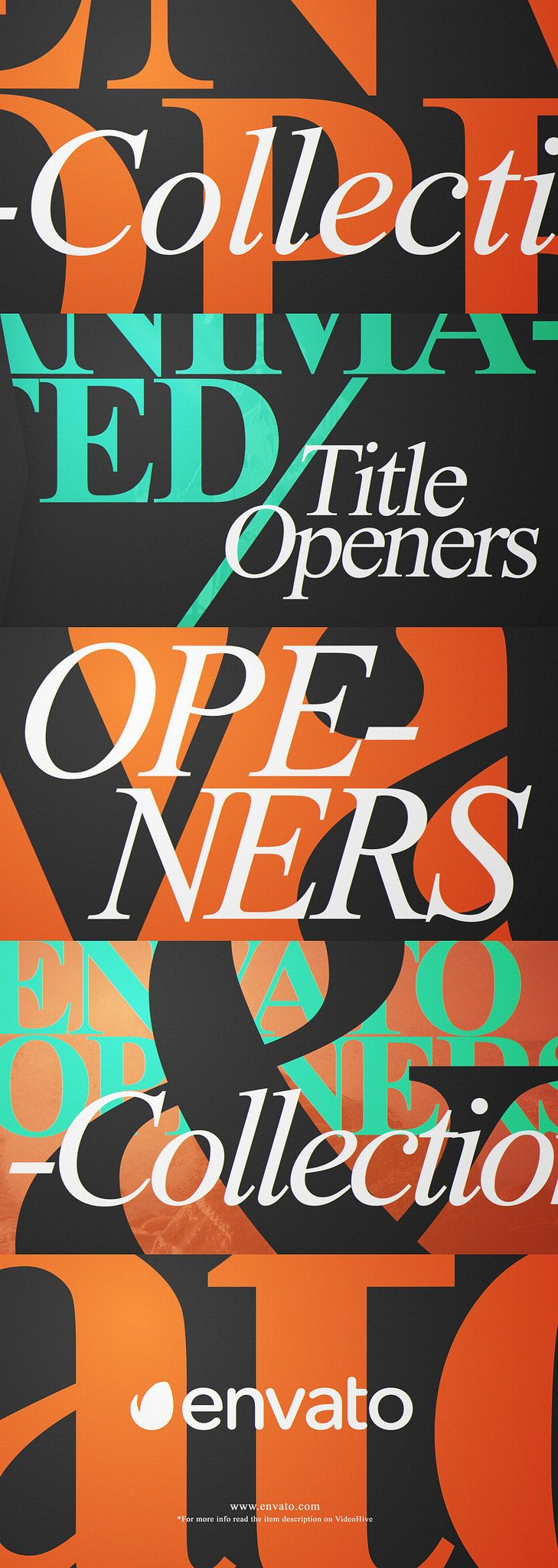 Typo Opener Pack Graphic design trends, Motion graphics