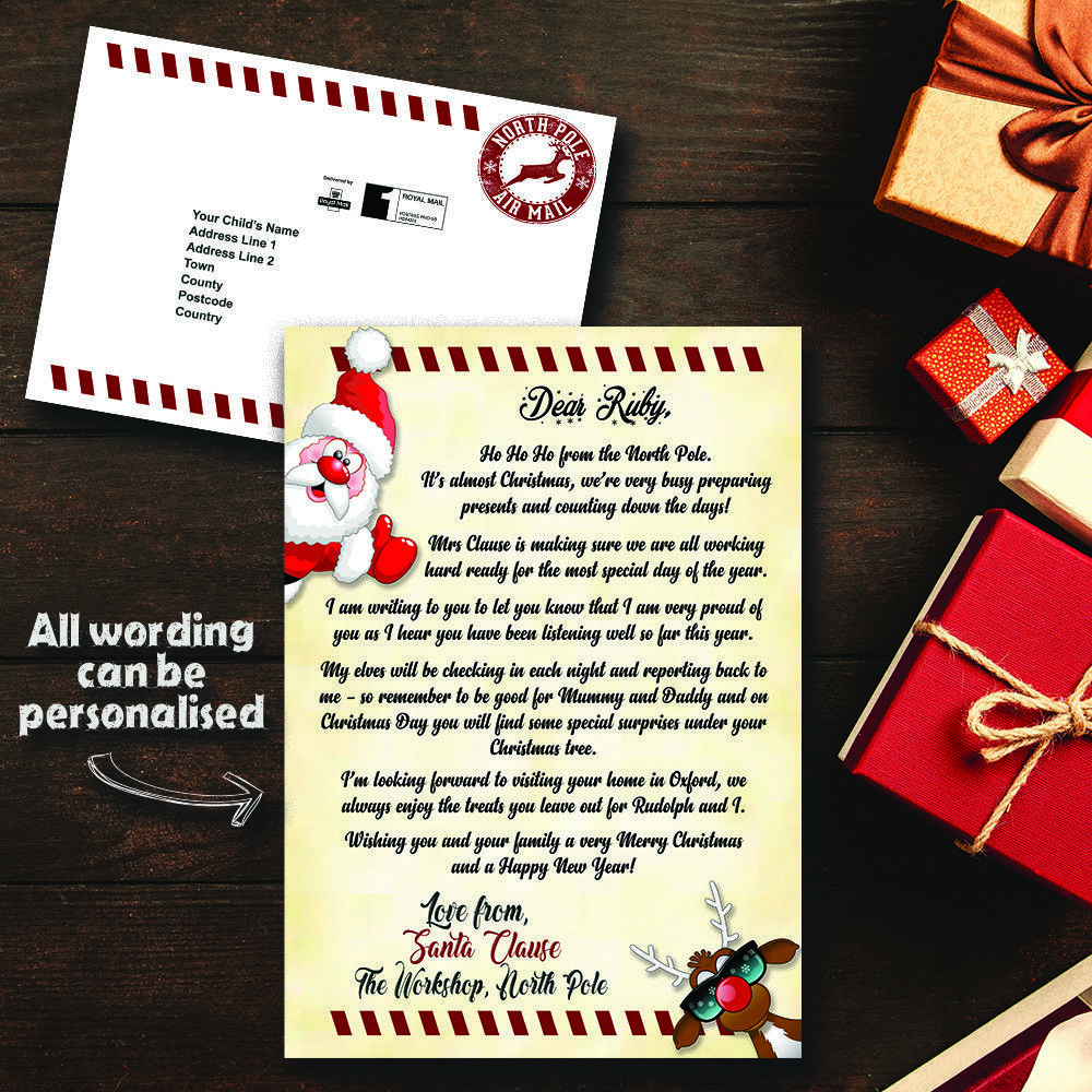 Details about Personalised Letter from Santa Father