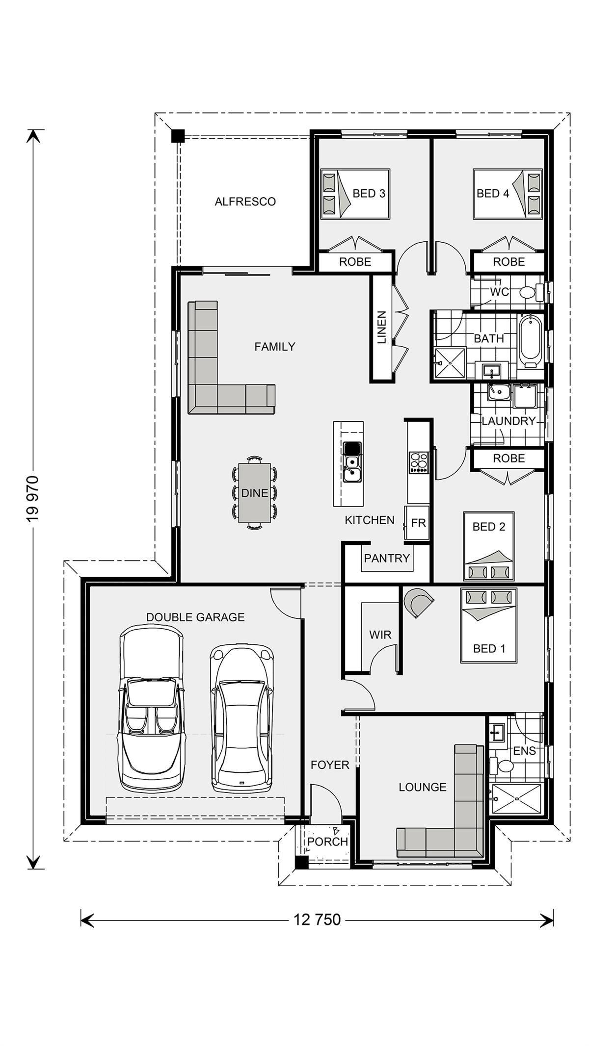 Woodridge 216 Express Series Home Designs In Port Macquarie Plan Maison Maison