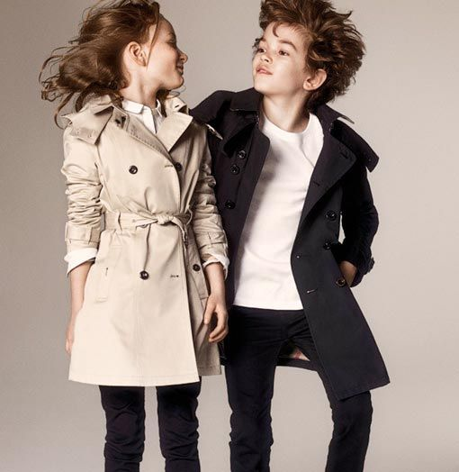8fa5bfb7cd6a9 Love these Burberry Kids Trench Coats. Perfect for any look!