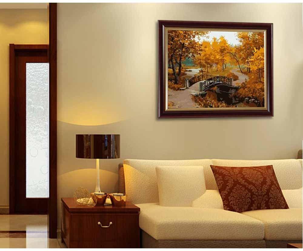 Картина по номерам «Золотая осень»   Ideas for the House ...