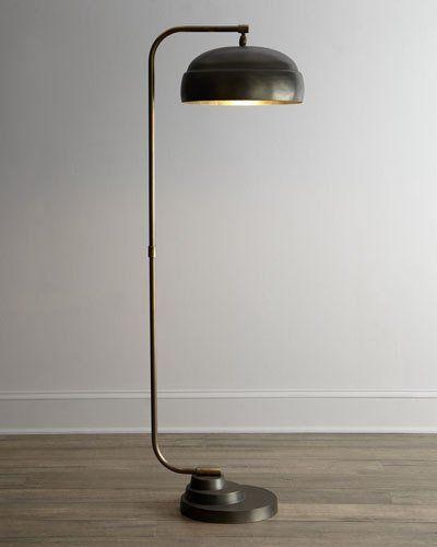 H56Y0 Jamie Young Steampunk Floor Lamp