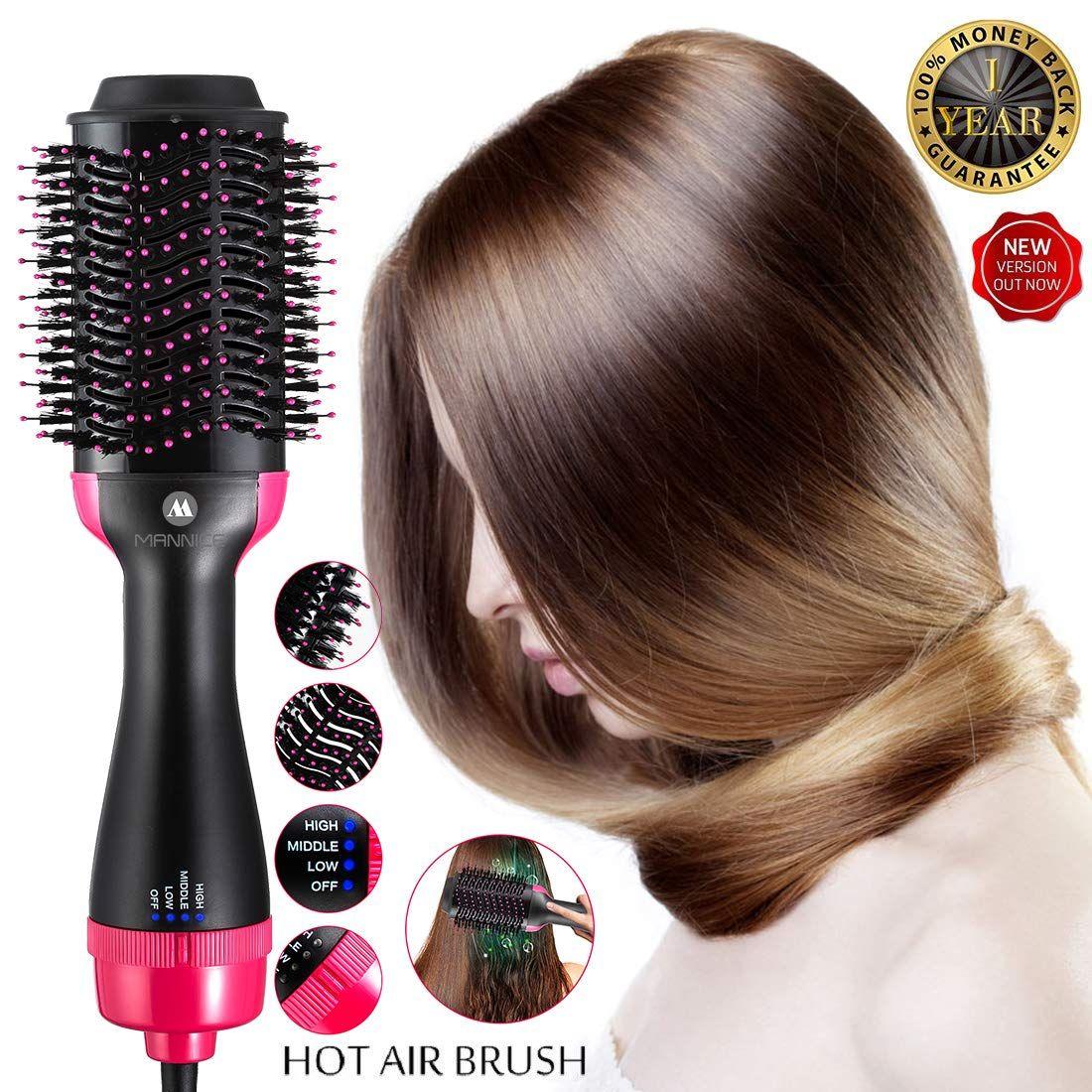 Revlon One Step Hair Dryer Volumizer Hot Air Brush Black Hair Dryer Brush Hair Brush Straightener Hair Dryer
