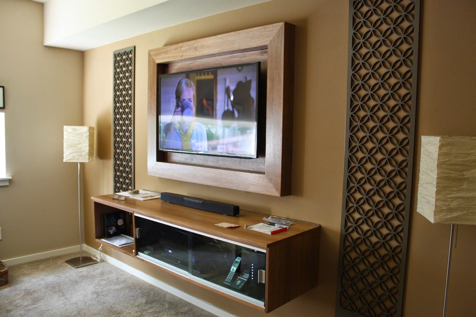 Image Result For Tv Wall Frame