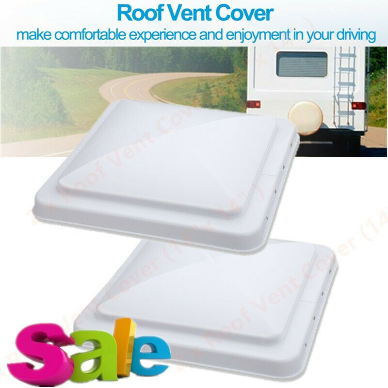 Sponsored Ebay 2pcs Roof Vent Cover Universal Replacement Camper Rv Trailer Roof Vent Cover New Roof Vent Covers Vent Covers Roof Vents