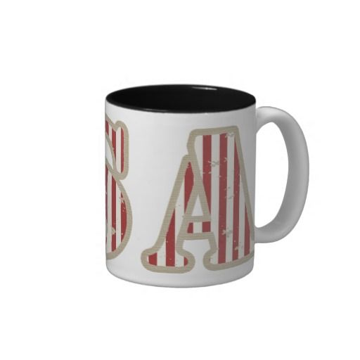 USA Two Toned Mug