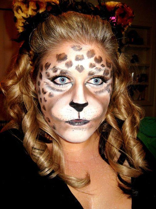 Halloween Makeup: Leopard | Halloween makeup, Leopards and Makeup