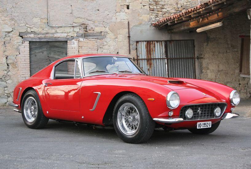 1960 Ferrari 250 SWB.Red