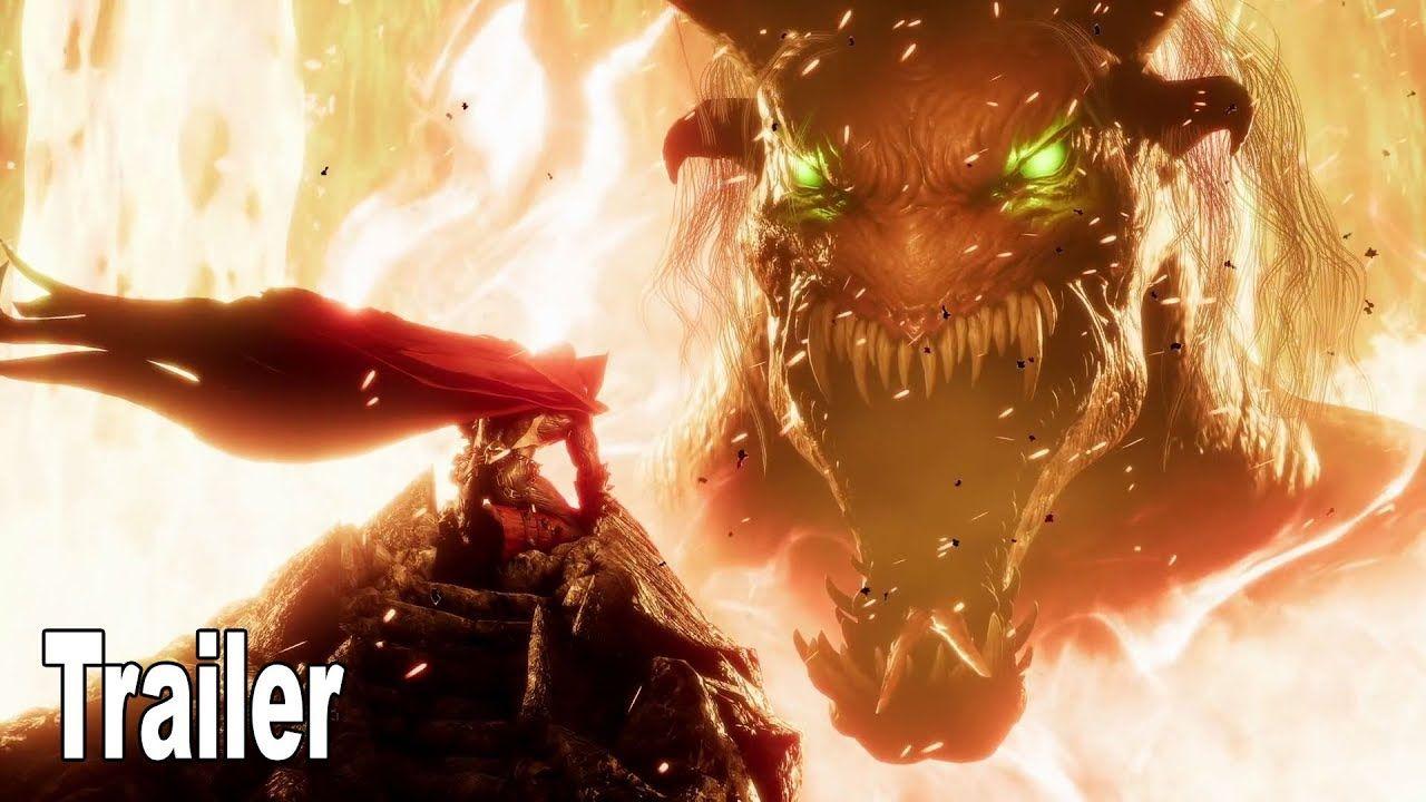 Mortal Kombat 11 Spawn Gameplay Trailer Hd 1080p In 2020 Mortal Kombat Victory Pose Spawn