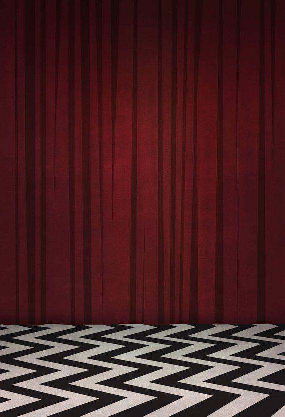 Black Lodge Twin Peaks 8x10 11x17 Or 13x19 Tv Red Room Etsy Twin Peaks Black Lodge Black Lodge Twin Peaks Wallpaper