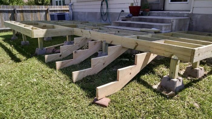 How to Build a Deck Step by Step with Pictures is part of Deck steps, Building a deck, Diy deck, Deck building plans, Decks backyard, Deck design - Looking for the best plans on how to build a deck step by step with pictures  Just follow these simple steps, just make absolutely sure you