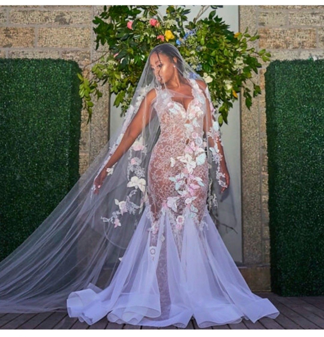 Remy Ma Wedding Dress By Karen Sabag Want This Custom Wedding