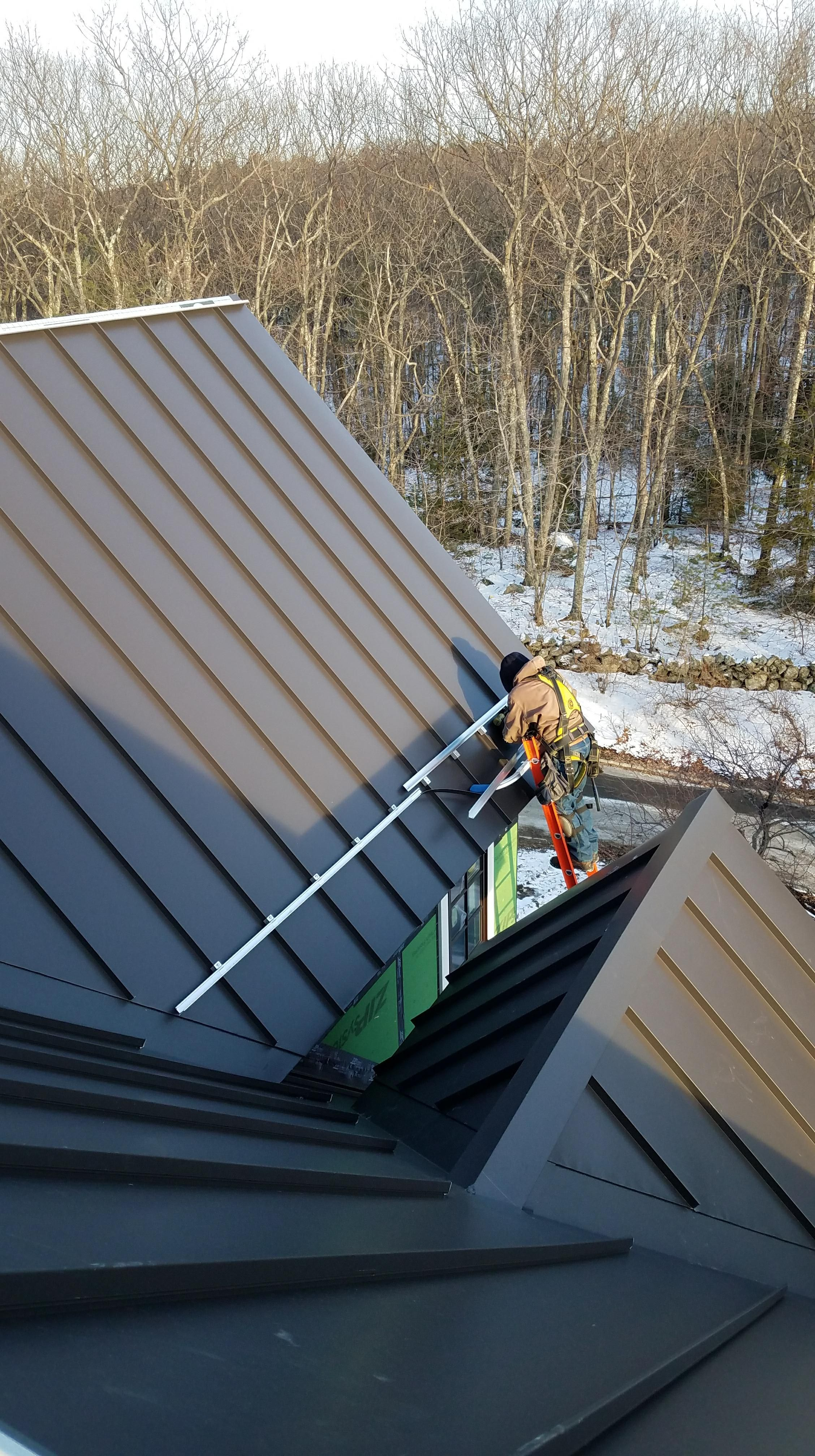 Standing Seam Classic Metal Roofs Llc Stow Ma Standing Seam Standing Seam Metal Roof Metal Roof