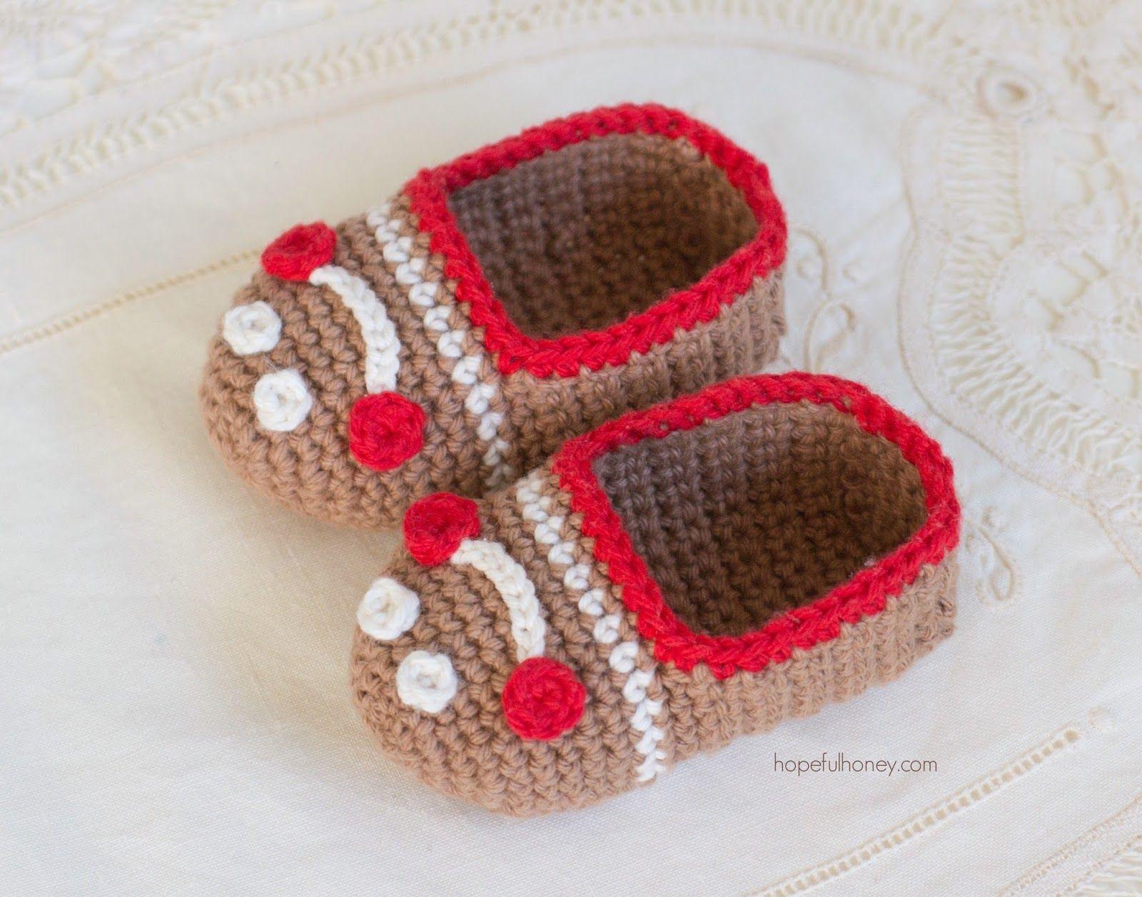 Gingerbread man baby booties free crochet pattern gingerbread gingerbread man baby booties free crochet pattern bankloansurffo Choice Image