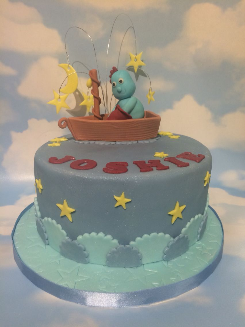 Iggle Piggle in his boat. In The Night Garden. | My cakes | Pinterest