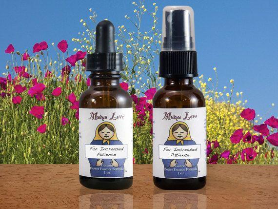 Increased Patience Flower Essence Dropper Or Spray Aura Mist Etsy Flower Essences Organic Vodka Essence