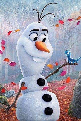 Download Frozen 2: Olaf and Bruni Portrait Wallpaper | CellularNews