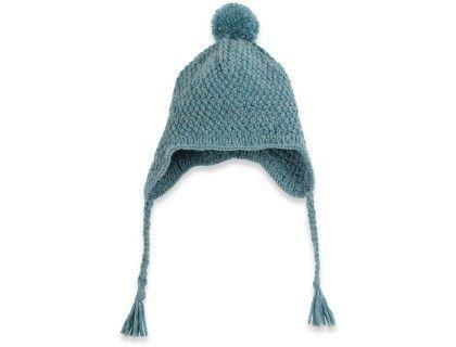 Un Bonnet bébé tricoté, alpaga laine pour l hivers   Kdo bébé ... 058210c05cc