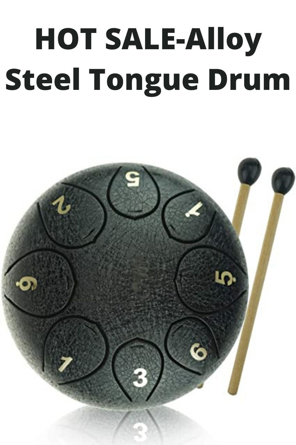 Pin on Steel Tongue Drum
