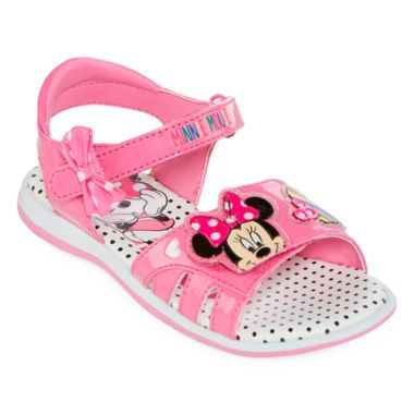 ca9f3d062a5a Disney® Minnie Mouse Girls Sandals - Toddler found at  JCPenney ...