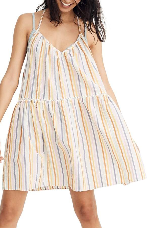 5d3aa2f3d3 Madewell Racerback Cover-Up Dress in 2019 | Products | Dresses ...