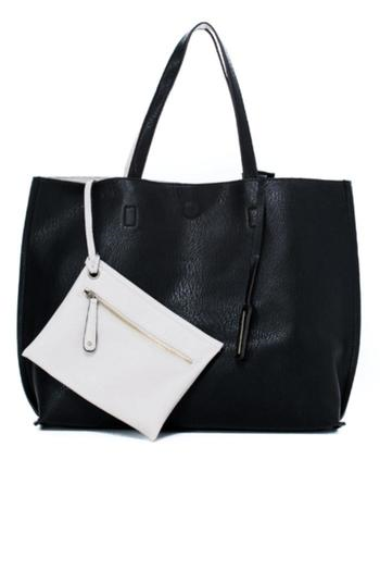 78$  Watch now - http://vivfc.justgood.pw/vig/item.php?t=iwy73i25605 - Black/ivory Reversible Tote 78$