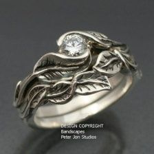 elvish ring - oooh love the earth elementalness to this