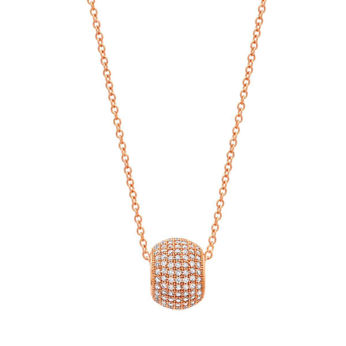 Rose gold and pave - love it.