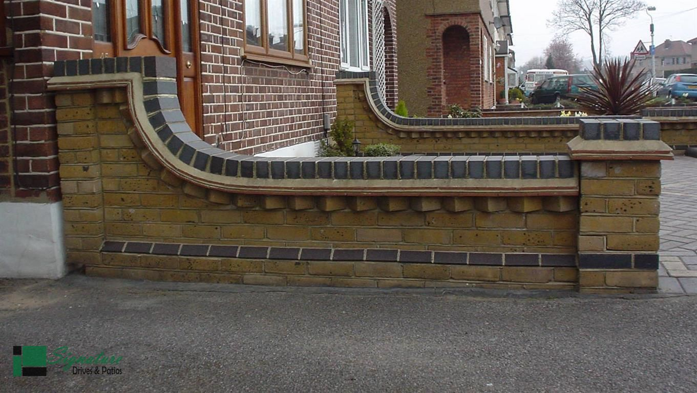 Image Result For Garden Boundary Brick Walls Uk