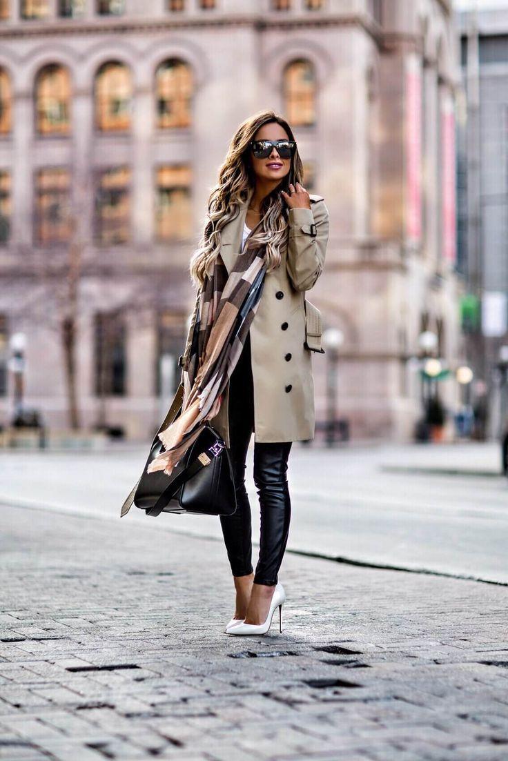 Der Schal und die Mäntel: So kombinieren Sie es mit der richtigen Schulter! ,  …,  #clothin…