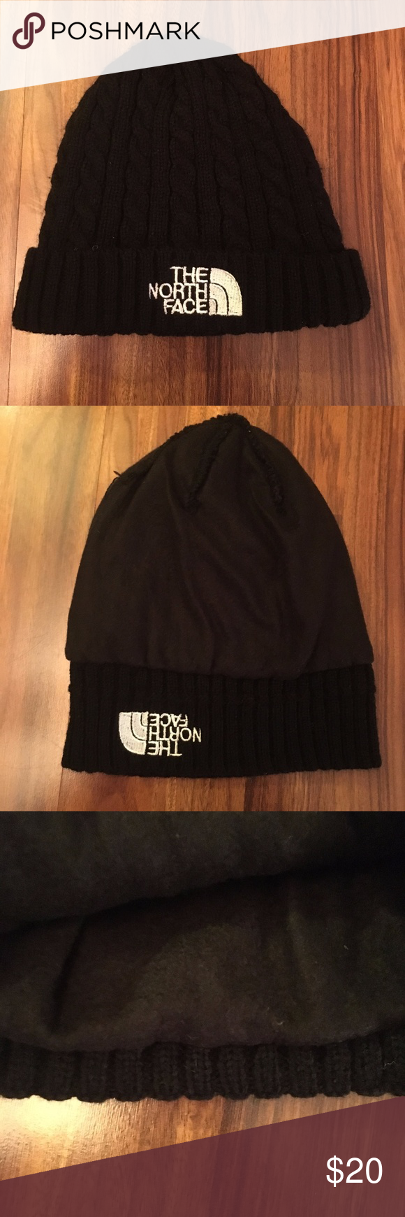 The North Face Beanie   Skully Cap - Very Soft! Condition - 8 10! No signs  of cuts flaws or stains. Very Soft Size - One Size Color - Black The North  Face ... 132f7cd9f9e