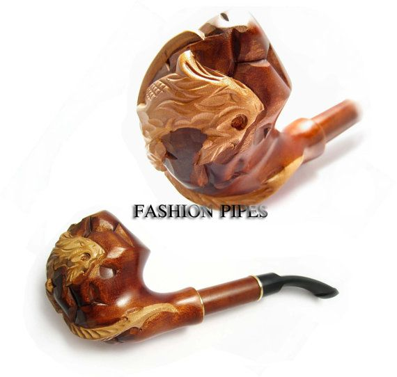 Fashion Gift Pipe Carved DRAGON, Long Tobacco Pipe Smoking Pipe ...