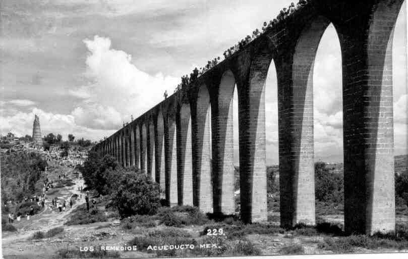 Acueducto del Río de los Remedios hoy Naucalpan
