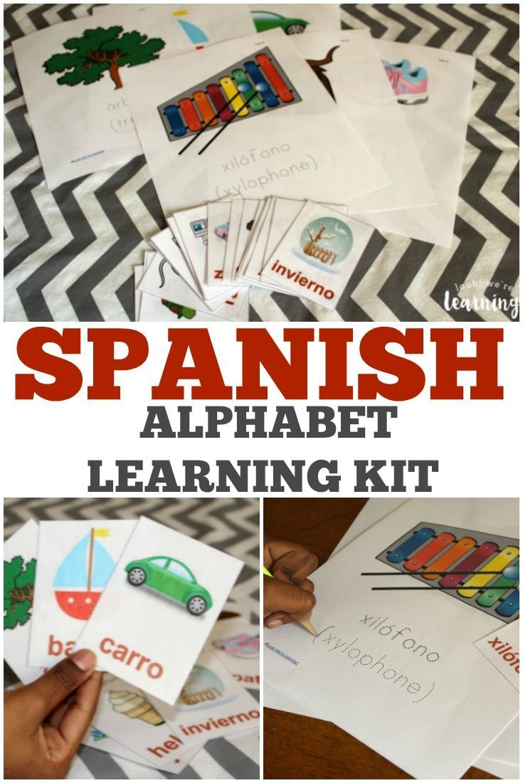 Spanish Alphabet Printables Pack Look We Re Learning Spanish Alphabet Spanish Alphabet Activities Learning Spanish For Kids [ 1100 x 735 Pixel ]