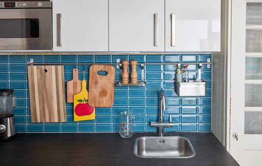 Add rails for additional storage on the walls Kitchen Pinterest - ikea küche tisch